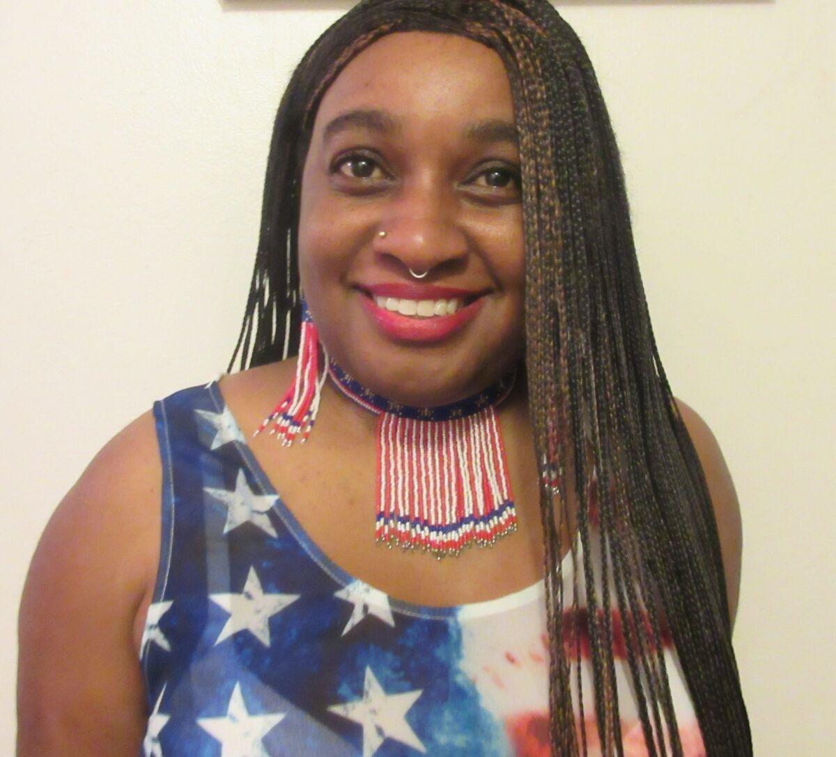 Ebony Native American Queen