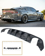 Dual Exhaust Diffuser For 15-Up Dodge Charger | SRT Factory Style Rear Bumper