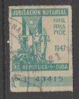 Spain Antilles Cinderella Revenue Fiscal stamp 3-21(20)