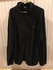 EUC Polo Ralph Lauren Light Full Zipper Jacket POLO Spell Out XXL 2XL