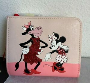 NWT Kate Spade Disney x Clarabelle & Friends Small Bifold Wallet PWR00304