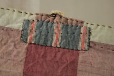 Primitive Fabric rare faded purple check poor condition TIMEWORN French cotton