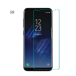New Slim 9H Tempered Glass Screen Protector Film For Samsung Galaxy S8/S8 plus u
