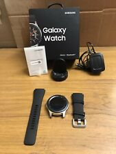 Samsung R800NZSABTU Galaxy  Bluetooth Smart Watch Silver Black GW2 A1 CONDITION