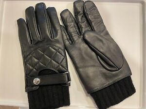 Polo Ralph Lauren Napa Leather Gloves Size S