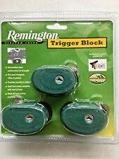 Remington 19439 Trigger Lock 3 Pack Block Keyed Alike 3-In-1