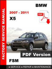 2007 - 2011 BMW X5 WORKSHOP OEM SERVICE REPAIR FACTORY MANUAL