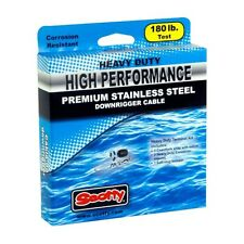 Scotty 300 ft Heavy Duty High Performance Stainless Steel Cable, 2401K