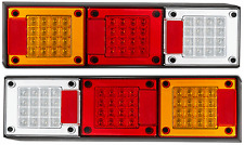 PAIR LED COMBO TRUCK LIGHTS MEDIUM TRUCK TRAILER SEMI FLOAT 460ARWM