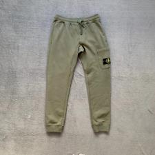 Stone Island Sweatpants Joggers - Army Green - Medium M 32W