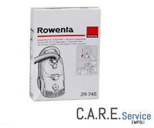Sacchetti Rowenta serie Dymbo ORIGINALI ZR745 6 SACCHI + 1 MICROFILTRO RS007