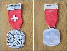 MEDAGLIA SVIZZERA SSV SSC EFS TFC 1970 300 m SEMPACH 1386 NON argento