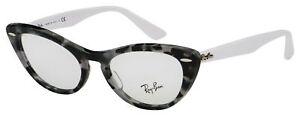 Ray-Ban Nina Eyeglasses RX 4314V 5938 51 Tortoise; White Frame [51-18-135]