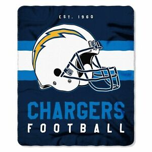 "Los Angeles Chargers 50"" x 60"" Singular Fleece Throw Blanket by Northwest"