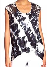 Young Fabulous & Broke Delainey Black Wash Tank Top Size Small New With Tags