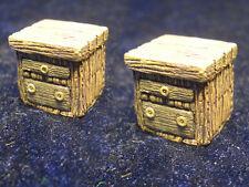 Set of 2 Bedside Tables Thomarillion Unpainted Resin Dwarven Forge D&D