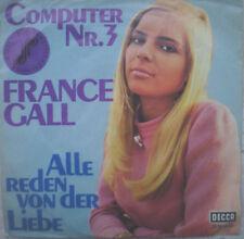 """7"""" 1969 France Gall un peu Goethe Bonaparte MINT -?"""