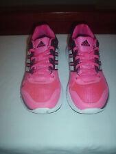 Girls Adidas Adiprene+Trainers, pink, textile/leather, size UK 4.5 EU 37.5