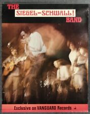 The Siegel-Schwall Band 1967 PROMO POSTER Vanguard Records