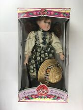 1997 VICTORIAN ROSE COLLECTION - PORCELAIN DOLL BY MELISSA JANE - #11297 - NEW