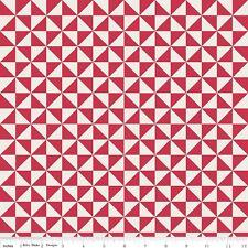 Teddy Bear Picnic Pinwheel Melly & Me Riley Blake Designs Fabric C6054 Red
