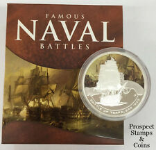 2010 Famous Naval Battles - The Battle of Trafalgar 1805 1oz Silver Proof Coin
