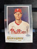 2020 Topps Allen & Ginter Chrome #295 Zack Wheeler Philadelphia Phillies