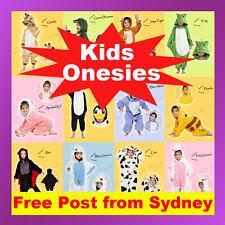 Kids Children's Unisex Kigurumi Animal Cosplay Costume Onesie Pajamas Sleepwear