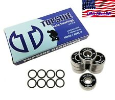 100 Pack 608-2RS Skateboard Bearing Rolling Bearings 8x22x7mm 608rs Bearing