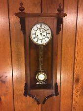 Antique Vienna Regulator Wall Clock Not Running Maker? Bim Bam Strike Project