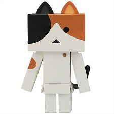 Kaiyodo Sofbi Toybox 006A Nyanbo Mike Cat Danbo Soft Vinyl Action Figure