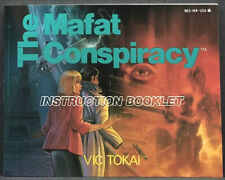 The Mafat Conspiracy Nintendo NES Instruction Booklet Only
