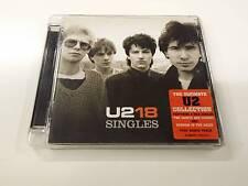 U2 18 SINGLES CD 2006