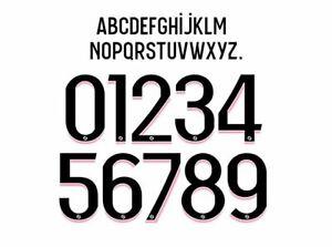 PSG 2021-2022 Ligue 1 Away Football Shirt Nameset Any Name & Number