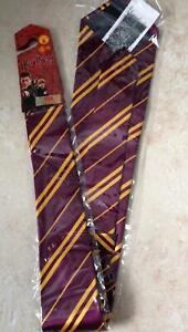 HARRY POTTER NECK TIE COSTUME DRESS ACCESSORY RU520