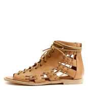 New Mollini Navada Tan Womens Shoes Casual Sandals Sandals Flat