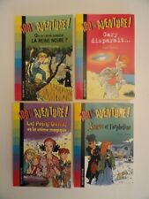 Lot de 4 livres 100% Aventure - Bayard Poche (Qté modifiable)