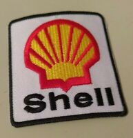 Collectible Shell Logo Embroidered 2.5 X 2.5 In. Patch Advertising Gas Oil New