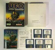 UFO ENEMY UNKNOWN ITALIANO Amiga Leader Microprose videogioco raro big box