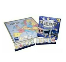 10 Days In Europe Out Of The Box Board Game Factory Sealed