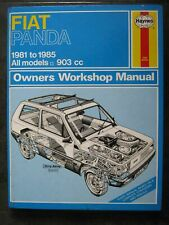 Haynes manual Fiat Panda 903cc 1981 - 1985 45 45 Super S Comfort