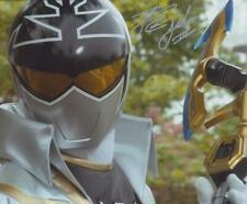 CAMERON JEBO as Orion the Silver Super Megaforce Ranger - Power Rangers GENUINE