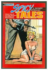Spicy Tales #11 VF 1989 Eternity Comics  GGA Bondage Headlight Bruce Timm Cover!
