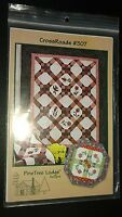 CROSSROADS #307 QUILT PATTERN, from PineTree Lodge Designs NEW
