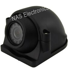 Car Side View CCD IP 69K Waterproof Backup Camera With 90 Degree Viewing Angle