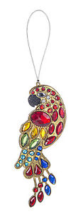 "Ganz Radiant Parrot Acrylic Crystal Ornament/Suncatcher, 4.5"""