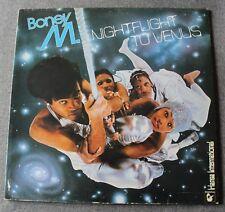 Boney M, nightflight to Venus, LP - 33 tours + cartes postale