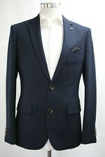 Herren Harry Brown Slim Fit Navy Blau Blazer (38r)... ref: 6753
