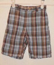 Ecko UNLTD. 4T baby boys shorts brand name plaid designer blue 4 years old