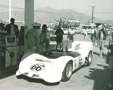 Vintage & Rare 8X10 Chaparral 2C Jim Hall 1965 Riverside L.A. Times Grand Prix